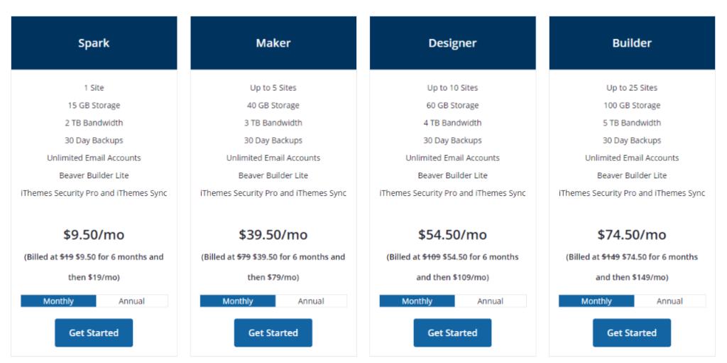 Liquid Web Managed WordPress Hosting Pricing Blogamigo