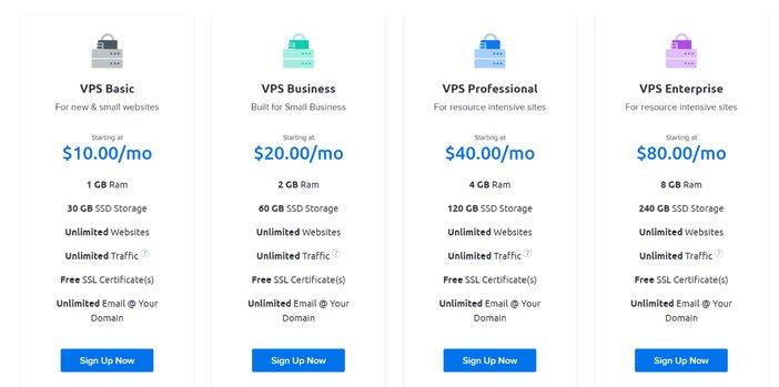 DreamHost VPS Hosting Plan Blogamigo