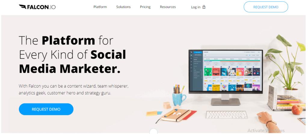 best social media management tools falcon
