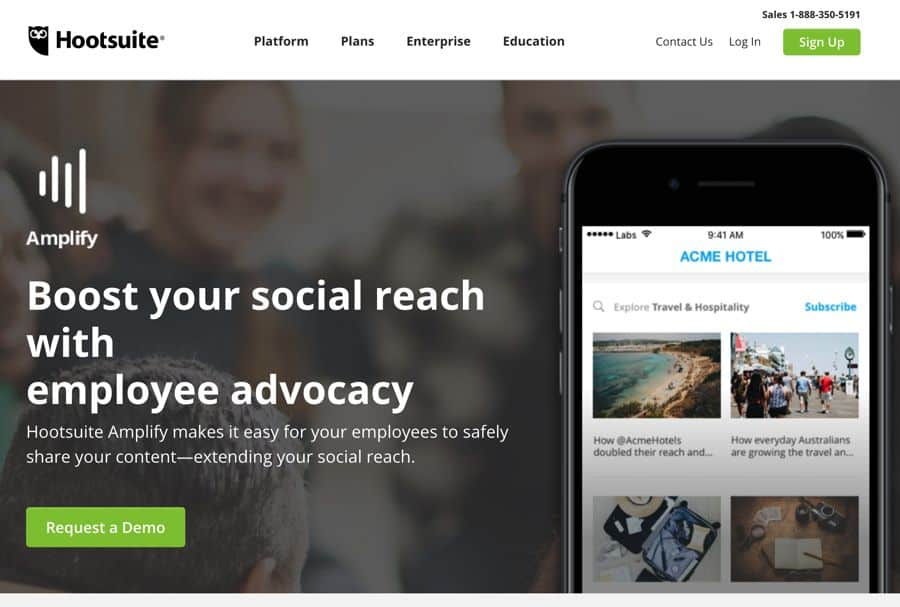 best social media management tools hootsuite