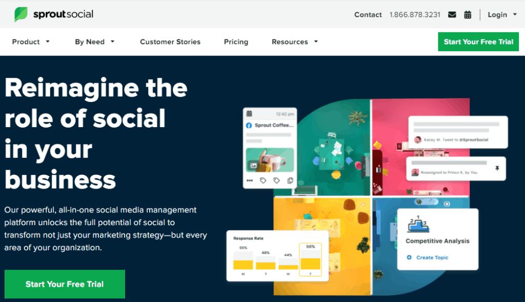 Sprout social - best social media management tools