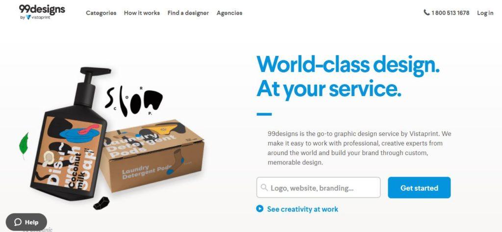 99designs | Best Freelance Job Websites