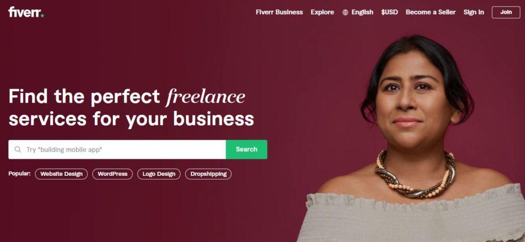 Fiverr | Best Freelance Job Websites