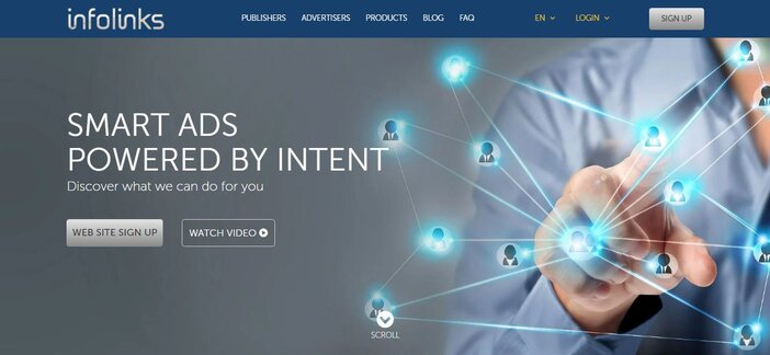 Iforlinks homepage