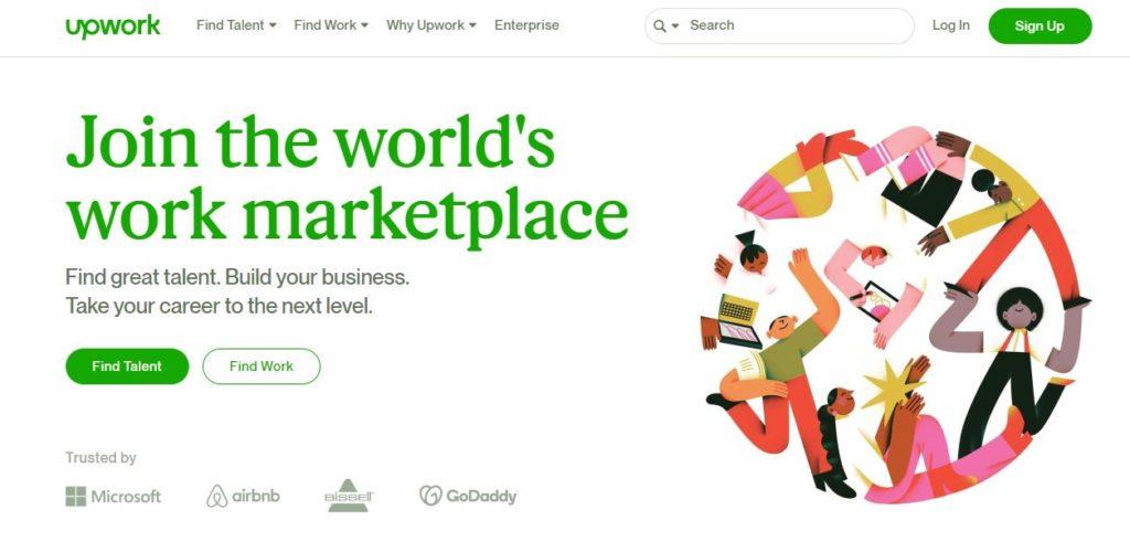 Upwork | Best Freelance Job Websites