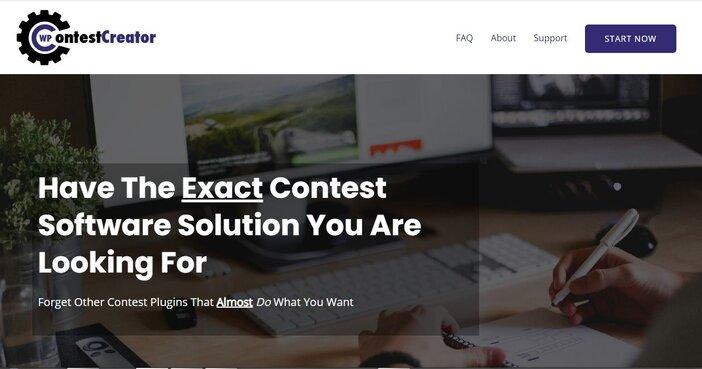 WP Contest Creator homepage
