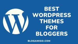 Best WordPress Themes for Bloggers - Blogamigo