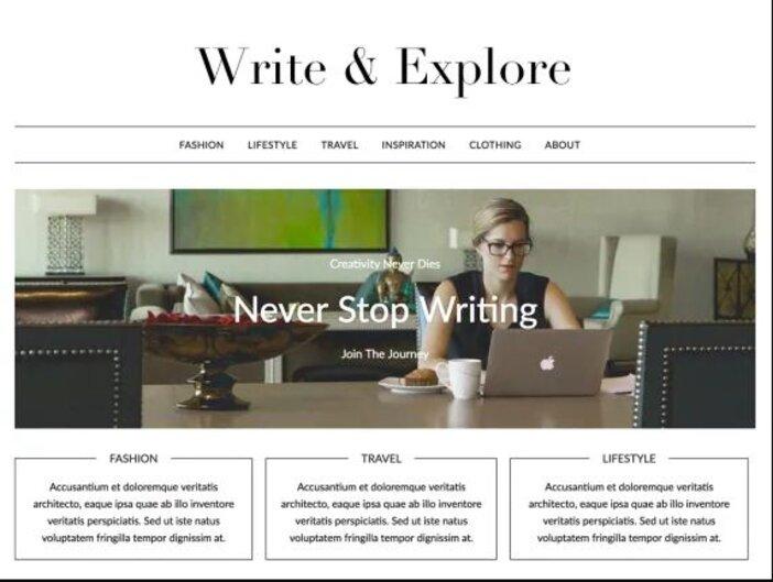 Best Minimalist WordPress Themes miniblogger logo
