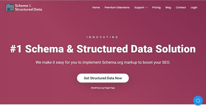 schema and Structure Data homepage