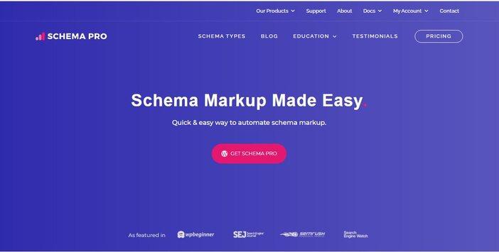 schema pro homepage