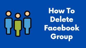 How To Delete Facebook Group Blogmigo