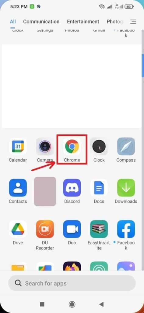 Select-The-Chrome-App-Blogamigo